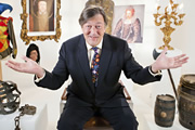 Horrible Histories With Stephen Fry. Stephen Fry. Image credit: Lion Television.