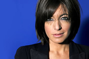 Hot Gossip. Claudia Winkleman. Copyright: TBI Media Productions.