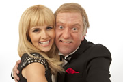 The Impressions Show With Culshaw & Stephenson. Image shows from L to R: Debra Stephenson, Jon Culshaw. Copyright: BBC.