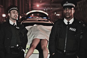 In Deep. Image shows from L to R: Jimmy (Adam Deacon), Nathan (Ashley Walters). Copyright: Big Talk Productions.