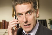 In The Loop. Malcolm Tucker (Peter Capaldi). Image credit: British Broadcasting Corporation.