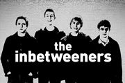 The Inbetweeners. Image shows from L to R: Simon Cooper (Joe Thomas), Neil Sutherland (Blake Harrison), Jay Cartwright (James Buckley), Will Mackenzie (Simon Bird). Image credit: Bwark Productions.