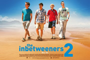 The Inbetweeners 2. Image shows from L to R: Simon Cooper (Joe Thomas), Will MacKenzie (Simon Bird), Jay Cartwright (James Buckley), Neil Sutherland (Blake Harrison). Copyright: Bwark Productions.