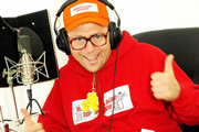 The Ivan Brackenbury Radio Show. Ivan Brackenbury (Tom Binns). Copyright: BBC.
