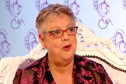 I've Never Seen Star Wars. Jo Brand. Image credit: British Broadcasting Corporation.