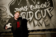 James Corden's World Cup Live. James Corden. Image credit: Amigo Television.