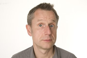 Jeremy Hardy Speaks To The Nation. Jeremy Hardy. Image credit: Pozzitive Productions.
