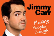 Jimmy Carr: Making People Laugh. Jimmy Carr. Copyright: Bwark Productions.