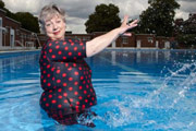 Jo Brand's Big Splash. Jo Brand. Copyright: Doghouse Media / What Larks Productions.
