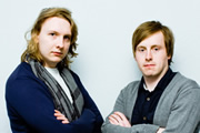 Image shows from L to R: Joe Lycett, Andrew Ryan.
