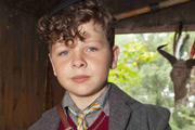 Just William. William Brown (Daniel Roche). Copyright: BBC.