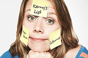 Kerry's List. Kerry (Kerry Godliman). Copyright: Open Mike Productions / BBC.