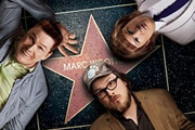 La La Land. Image shows from L to R: Gary Garner (Marc Wootton), Brendan Allen (Marc Wootton), Shirley Ghostman (Marc Wootton). Image credit: Showtime.