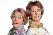Ladies Of Letters. Image shows from L to R: Vera Small (Anne Reid), Irene Spencer (Maureen Lipman). Copyright: Tiger Aspect Productions.