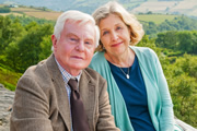 Last Tango In Halifax. Image shows from L to R: Alan (Derek Jacobi), Celia (Anne Reid). Image credit: Red Production Company.