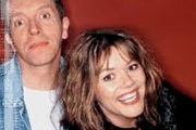 The Lawrence Sweeney Mix. Image shows from L to R: Jim Sweeney, Josie Lawrence.