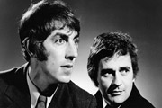 Image shows from L to R: Peter Cook, Dudley Moore.