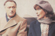 Let There Be Love. Image shows from L to R: Timothy Love (Paul Eddington), Judy (Nanette Newman). Copyright: Thames Television.