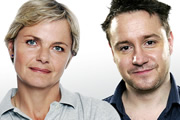 Listen Against. Image shows from L to R: Alice Arnold, Jon Holmes. Copyright: BBC.