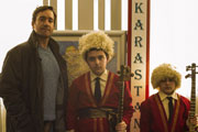 Lost In Karastan. Image shows from L to R: Emil Forester (Matthew Macfadyen), Unknown, Unknown.