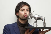 Marcel Lucont wins Amused Moose Award