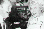Margie And Me. Image shows from L to R: Arthur (Arthur Mullard), Margie (Betty Marsden). Copyright: Yorkshire Television.