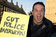 Mark Thomas: My Life In Serious Organised Crime. Mark Thomas. Copyright: BBC.