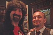 Mat Ricardo's Voodoo Varieties. Image shows from L to R: Mick Foley, Mat Ricardo.