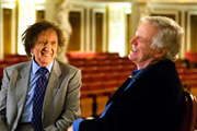Michael Grade & The World's Oldest Joke. Image shows from L to R: Ken Dodd, Michael Grade.