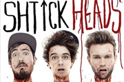 The Midnight Beast - Schtick Heads. Image shows from L to R: Andrew Wakely, Stefan Abingdon, Ashley Horne.
