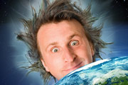 Milton Jones - Live Universe Tour - Part One: Earth. Milton Jones. Copyright: Pozzitive Productions.