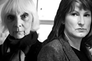 Miracles R Us. Image shows from L to R: Sylvia (Anna Massey), Caroline (Deborah Findlay). Copyright: BBC.