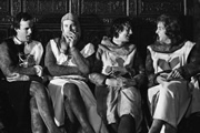 Monty Python's Personal Best. Image shows from L to R: John Cleese, Neil Innes, Michael Palin, Eric Idle.