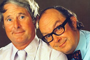 Morecambe And Wise: The Garage Tapes. Image shows from L to R: Ernie Wise, Eric Morecambe. Copyright: Whistledown.