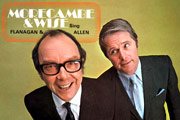 Morecambe & Wise Sing Flanagan & Allen. Image shows from L to R: Eric Morecambe, Ernie Wise.