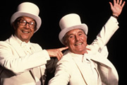 Bring Me Morecambe And Wise. Image shows from L to R: Eric Morecambe, Ernie Wise. Copyright: North One Television.