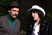 Monty Python's Wonderful World Of Sound. Image shows from L to R: Julian Barratt, Noel Fielding. Copyright: Wise Buddah.