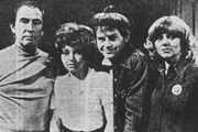 Mr Big. Image shows from L to R: Eddie (Peter Jones), Dolly (Prunella Scales), Ginger (Ian Lavender), Norma (Carol Hawkins). Copyright: BBC.