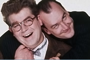 Mr. Don And Mr. George. Image shows from L to R: Donald McDiarmid (Moray Hunter), George McDiarmid (Jack Docherty). Copyright: ABsoLuTeLy Productions / Channel 4 Television Corporation.
