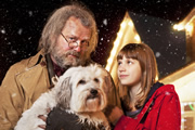Mr Stink. Image shows from L to R: Mr Stink (Hugh Bonneville), Chloe (Nell Tiger Free). Image credit: British Broadcasting Corporation.