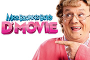 Mrs. Brown's Boys D'Movie. Agnes Brown (Brendan O'Carroll). Copyright: BocPix / BBC Films.