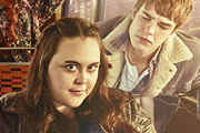 My Mad Fat Diary. Image shows from L to R: Rae Earl (Sharon Rooney), Finn (Nico Mirallegro). Copyright: Tiger Aspect Productions.