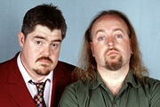 Never Mind The Buzzcocks. Image shows from L to R: Phill Jupitus, Bill Bailey. Copyright: TalkbackThames / BBC.
