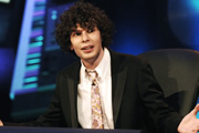 Never Mind The Buzzcocks. Simon Amstell. Copyright: TalkbackThames / BBC.