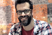 I've Never Seen Star Wars. Marcus Brigstocke. Image credit: British Broadcasting Corporation.