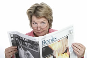 The News Quiz. Sandi Toksvig. Copyright: BBC.