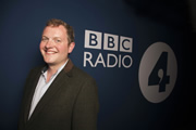 Miles Jupp is the new host of The News Quiz