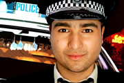 Detective Sergeant Nick Mohammed. Nick Mohammed. Copyright: BBC.