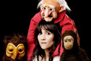 Yes, Nina Conti Really Is On The Radio. Nina Conti. Copyright: BBC.