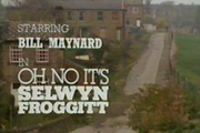 Oh No It's Selwyn Froggitt. Image credit: Yorkshire Television.
